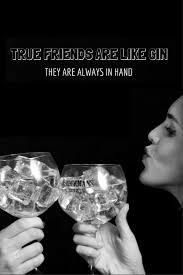 Who Is Your Right Hand Gin Friend Gins Grins Gin Quotes