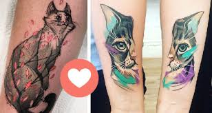 Obrázky Tetování Kočka