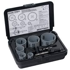 8 Piece Electricians Hole Saw Kit 31630 Klein Tools