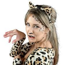 halloween leopard look