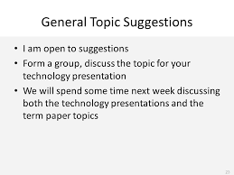 week agenda course outline course overview lecture topic the  23 general