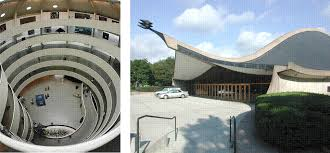 Curved line in architecture