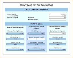 Debt Snowball Program Get Out Of Plan Spreadsheet Rapid
