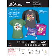 Jolee S Boutique Easy Image For Light Fabrics Instructions Jolees Boutique Easy Image Transfer Paper Glow In The Dark For Dark Fabrics