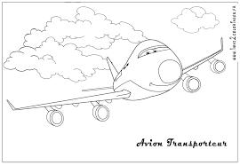 Coloriages Cars 2 Avion Transporteur Cars 2 Coloriages Les