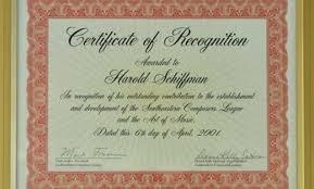 Appreciation Certificates Wording New Certificate Of Recognition Sample Wording Template Award Peero Idea