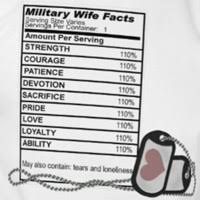 military wife ings t shirt