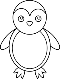 penguins clipart black and white. Penguin Line Art The Emperor Black And White Drawing Free Commercial Clipart Picture Freeuse Penguins