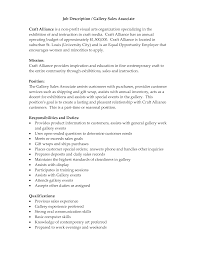 retail sales job description