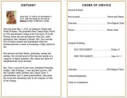 Funeral Programs Samples Cool Ideas For Funeral Service Cards Programs Examples Funeral