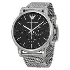 burberry watch rubber watches and burberry men emporio armani classic chronograph black dial steel men s watch 46mm ar1081 the watches