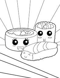 Kawaii Coloring Pages Food Coloring Pages Kawaii Coloring Pages
