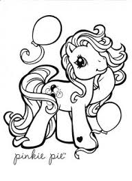 Small Picture My Little Pony coloring page MLP Pinkie Pie Coloring pages