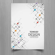 White Brochure White Brochure Technological Style Vector Free Download
