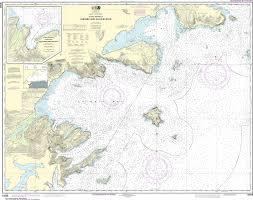 Noaa Nautical Chart 16566 Chignik And Kujulik Bays Alaska Pen Anchorage And Mud Bays Chignik Bay