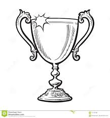 Trophy Winner Cup Stock Vector Illustration Of Prize 112192489