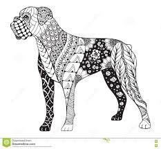 Reward Printable Boxer Dog Coloring Pages Onli 6235