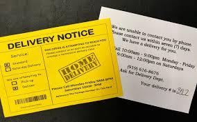 Scam Alert Delivery Notice Scheme Targeting Unsuspecting Consumers