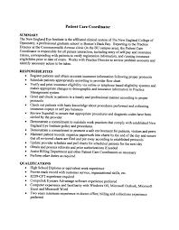 Pct Job Description Resume Patient Care Technician Job Description For Resume Best Business 2