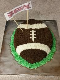 Football Birthday Cake For 7 Year Old Boy My Cake Creations In