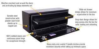 truck toolbox with drawers. features for northern tool + equipment underbody gloss black truck box with drawer \u2014 steel toolbox drawers s