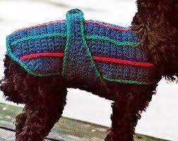 Dog Sweater Crochet Pattern Enchanting Crochet Dog Sweater Etsy