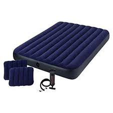 intex air mattress pump. Brilliant Intex Buy Intex Air Lock Queen Bed With Pillows And Pump Inflatable  Mattress 68765 Online At Best Price In UAE  EasyShopping To