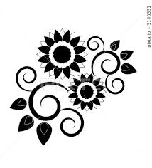 ひまわり イメージのイラスト素材 5140351 Pixta