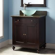 30 Bathroom Cabinet 30 Keller Mahogany Vessel Sink Vanity Dark Espresso Bathroom