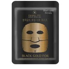 "<b>Маска</b> для лица <b>Skinlite фольгированная</b> ""Чёрное золото ..."