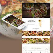 Restaurant Website Design Mexican Restaurant Website Design For Taco Bar Motocms