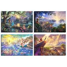 Buy <b>beauty</b> and the beast canvas art and get free shipping on ...