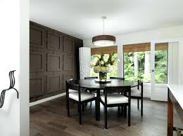 dining room feature wall living room design