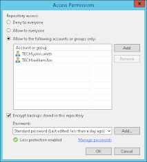 encryption for ahv backups veeam r d