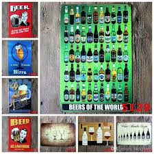 2019 beer wine birra tin poster wall decor bar home vintage metal sign craft gift art iron painting tin signmixed designs from luckyaboy 1 81 dhgate com