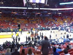 American Airlines Arena Section 107 Seat Views Seatgeek