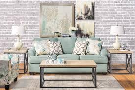Seafoam Sofa Living Room Modern Living Room Los Angeles by