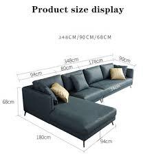 nordic technology cloth sofa furniture