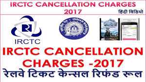 Irctc Fare Chart 2017 Cancellation Charges For Waitlisted Rac Ticket By Go Here Online