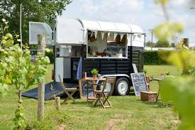 horse trailers can be customized for various small mobile businesses