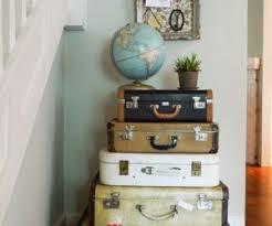 Vintage Luggage Home Decor