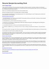 Sample Resume Accounting Assistant Cover Letter Sample For Accountant Assistant New Accounting 2