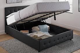 platform beds with storage. Cambridge Upholstered Bed With Storage Platform Beds