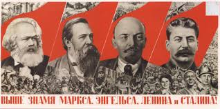 lenin and stalin stalin poster of the week 4 gustav klutsis raise higher the banner