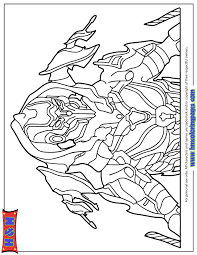 halo 4 action figure coloring page