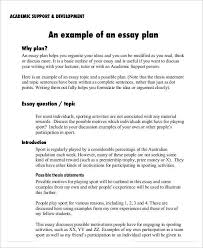 how to write an essay plan template co 8 essay plan templates sample example format