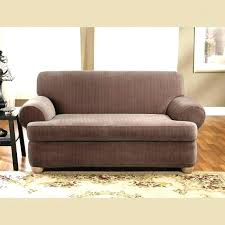 sofa slipcovers t cushion 2 piece slipcover and sure fit stretch pie