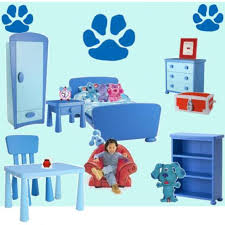 side table drawer blues clues. Photo 11 Of 16 Blue\u0027s Clues Bedroom (delightful Blues Side Table Drawer For Sale #11)