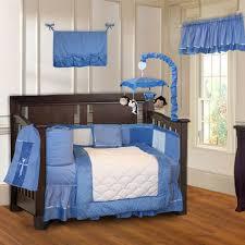 bedding sets babyfad image minky blue 10 piece boys baby crib bedding set including