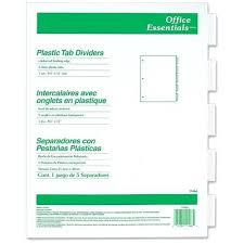 Office Depot Divider Templates 5 Tab Divider Moviesonline2 Co